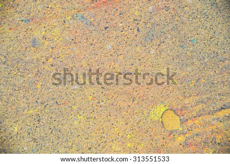 asphalt in various colors as a background