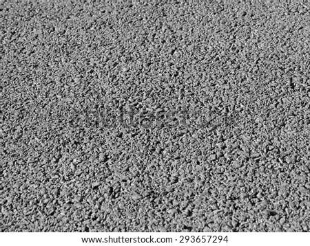 Asphalt road Texture closeup - stock photo