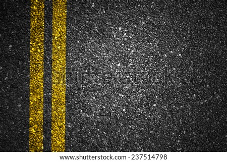 Asphalt Road Texture for Background - stock photo