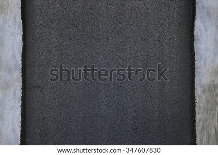 asphalt road texture isolated