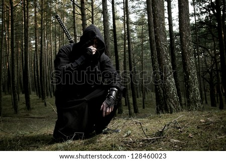 assassin in the deep forest