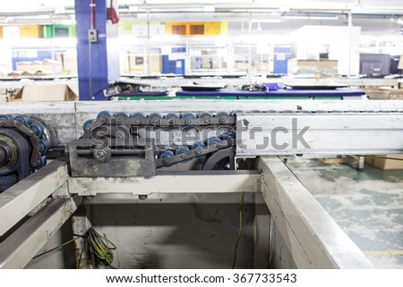 Assembly Line Conveyors are instrumental in manufacturing assembly