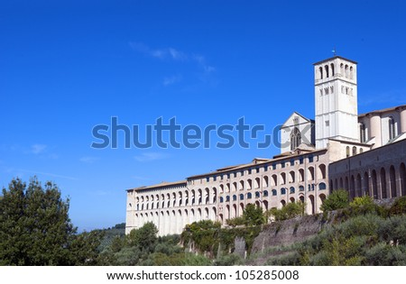 Assisi cathedral, Italy