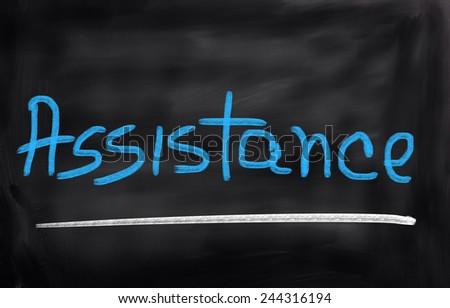 Assistance Concept - stock photo