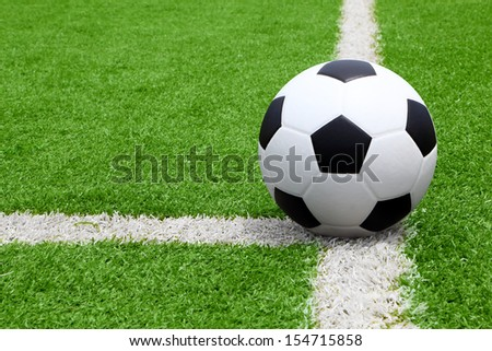 Association football, commonly known as football or soccer, is a sport played between two teams of typically eleven players, the game was played in over 200 countries - stock photo