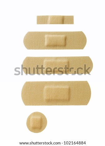 Assorted Band Aid - stock photo