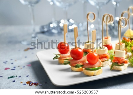 Canape stock images royalty free images vectors for Types of canape