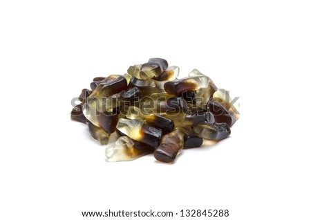Assorted candies various flavors - stock photo
