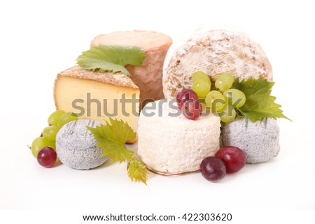 assorted cheese - stock photo