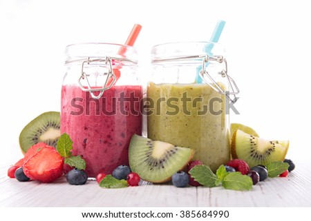 assorted smoothie