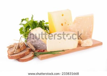 assortment of cheese - stock photo