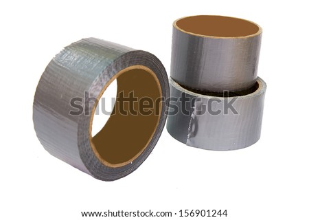 Assortment of Duct Tape - stock photo