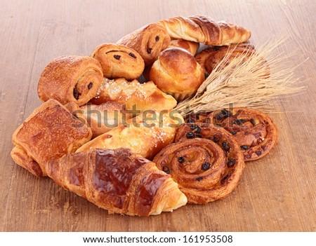 assortment of pastries - stock photo