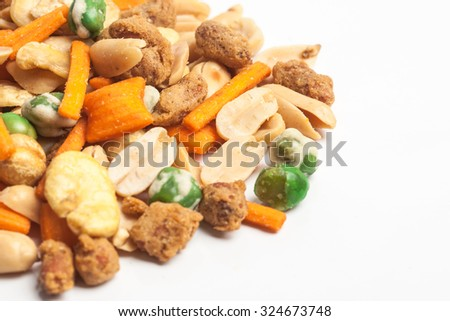 assortment of tasty nuts