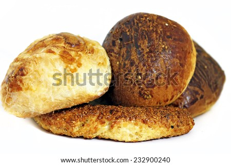 Assortment of Turkish Pastries - stock photo