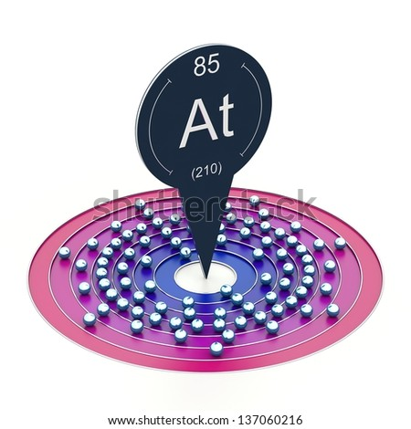 Astatine element periodic table electron configuration stock astatine element from periodic table electron configuration urtaz Image collections