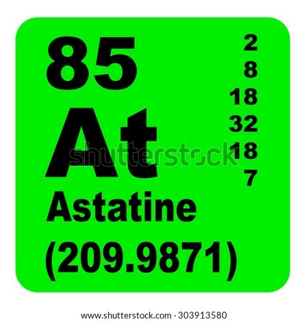 Astatine periodic table elements stock illustration 303913580 astatine periodic table of elements urtaz Gallery
