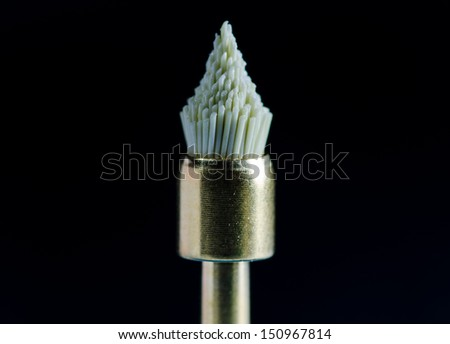 Astrobrush - Dental bur - stock photo