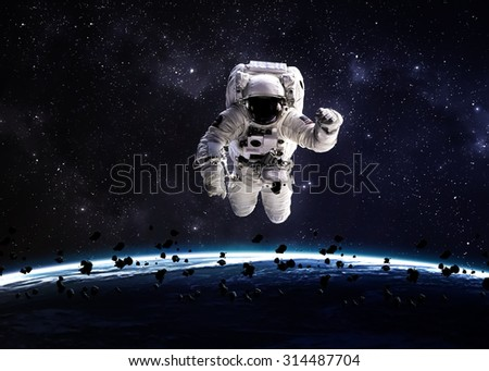 Vadim sadovski 39 s astronauts set on shutterstock for Outer space elements
