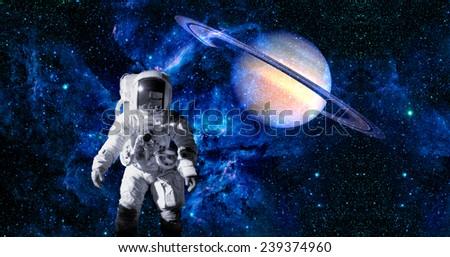 astronauts on saturn - photo #11