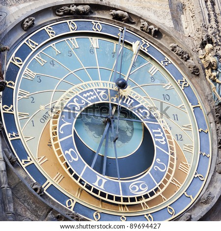 astronomical clock in Prague, Czech republic See my portfolio for more