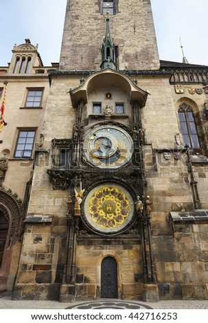 Astronomical Clock of Prague, Czech Republic, Europe