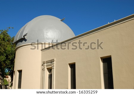 Astronomical observatory; San Jose, California