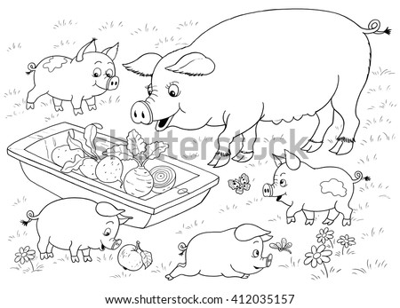 animal family stock images royalty free images vectors shutterstock. Black Bedroom Furniture Sets. Home Design Ideas