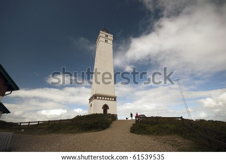 At the western tip of Denmark stands Blaavandshuk Lighthouse.