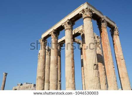Athens Is The Cradle Of Classical Civilization And Philosophy Also For Architecture Temples