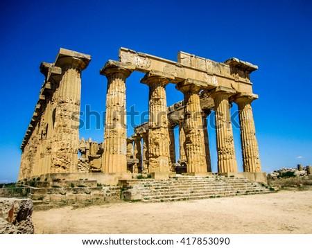 Athens Parthenon - stock photo