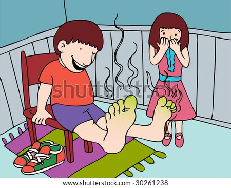 how to fix stinky feet