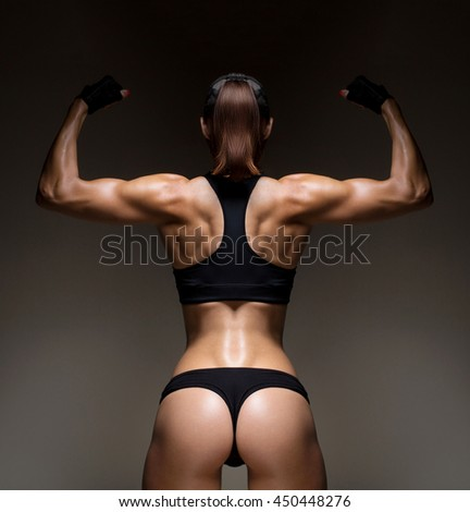 how to build back muscle female