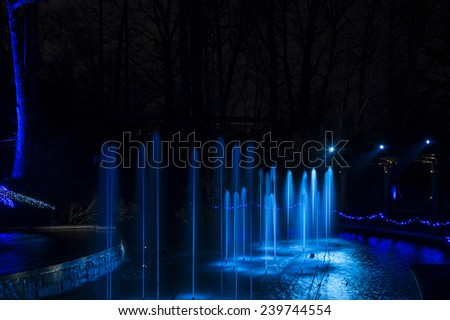 Atlanta Botanial Gardens - stock photo