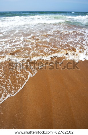 Atlantic, Africa, Morocco beach
