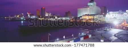Atlantic City, New Jersey - stock photo