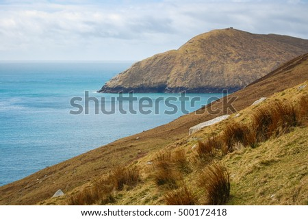 Atlantic coast, County Mayo in Ireland/ Atlantic coast/ Ocean coast in Ireland.