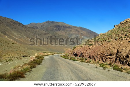 Atlas Mountains, South Morocco, Africa