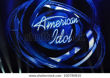 "Atmosphere  at the ""American Idol"" Season 10 Judges Announcement, Forum, Inglewood, CA. 09-22-10 - stock photo"