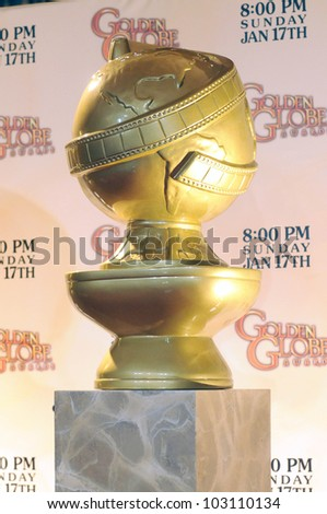 Atmosphere  at the 67th Annual Golden Globe Awards Nominations Announcement, Beverly Hilton Hotel, Beverly Hills, CA. 12-15-09 - stock photo