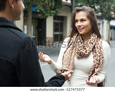 Flirt fille