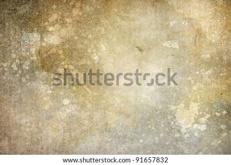 attractive grunge texture background with stains splashes and scratches for vintage works