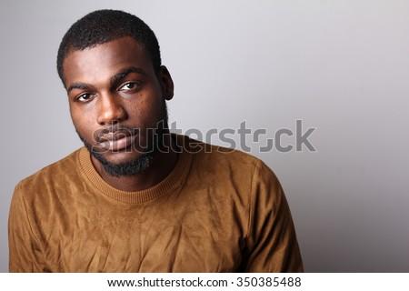 Attractive man - stock photo