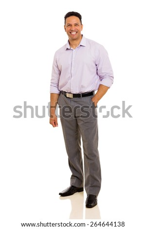 attractive middle aged man looking at the camera - stock photo