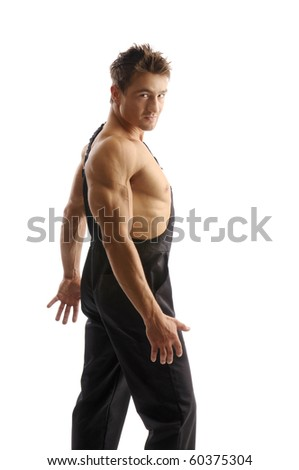 Attractive Muscular Man