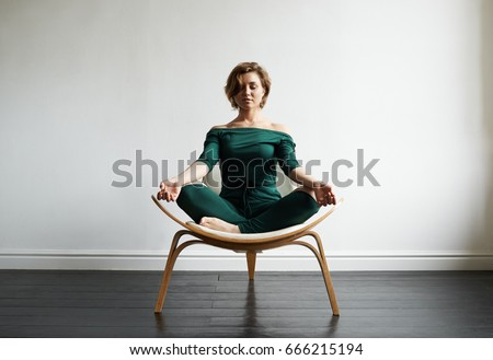 chair pose yoga stock images royaltyfree images