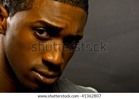 Attractive Young African-American Man