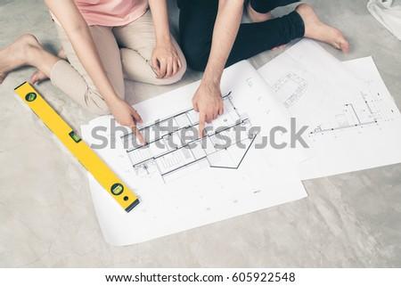 House Plan Stock Images RoyaltyFree Images Vectors Shutterstock