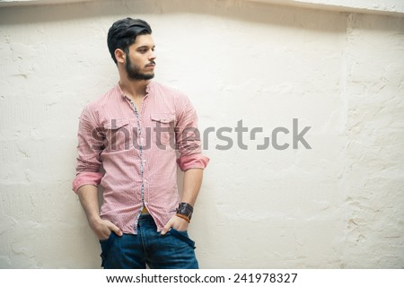 Attractive Young Male Model
