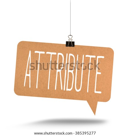 What is the difference between the words attribute and contribute?